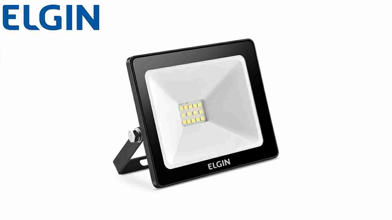 REFLETOR ELGIN LED  10W L.BR BIV.550LM