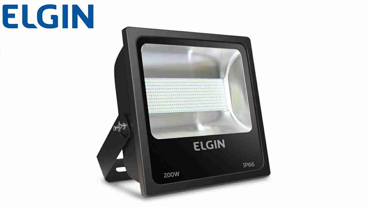 REFLETOR ELGIN LED 200W L.BR BI.15000LM