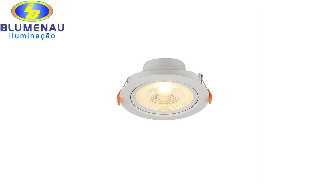 SPOT LED BLUMENAU EMB.RED 6W AM BI.410LM