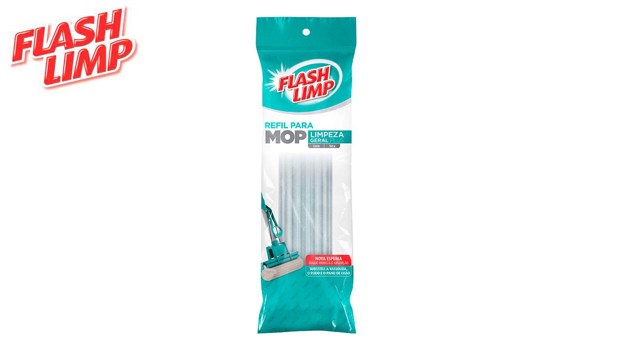 FLASH LIMP REFIL MOP LIMPEZA GERAL PLUS