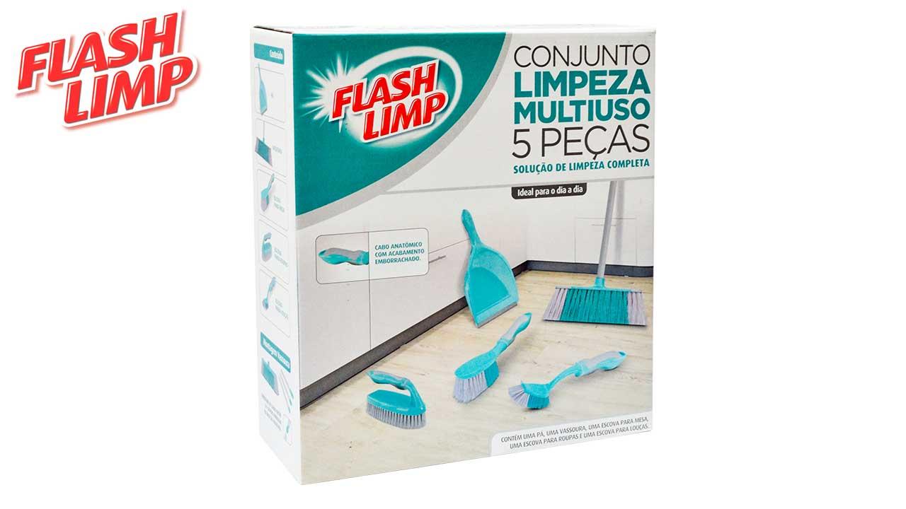 FLASH LIMP KIT PARA LIMPEZA MULTIUSO C/05PC