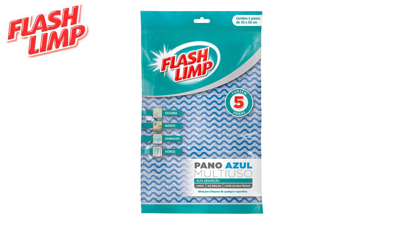 FLASH LIMP PANO MULTIUSO AZ C/05PC