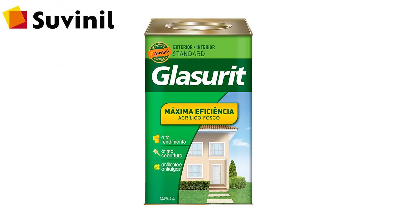TINTA GLASURIT ACRÍLICA MÁXIMA EFICIÊNCIA FOSCO 18L BRANCO NEVE