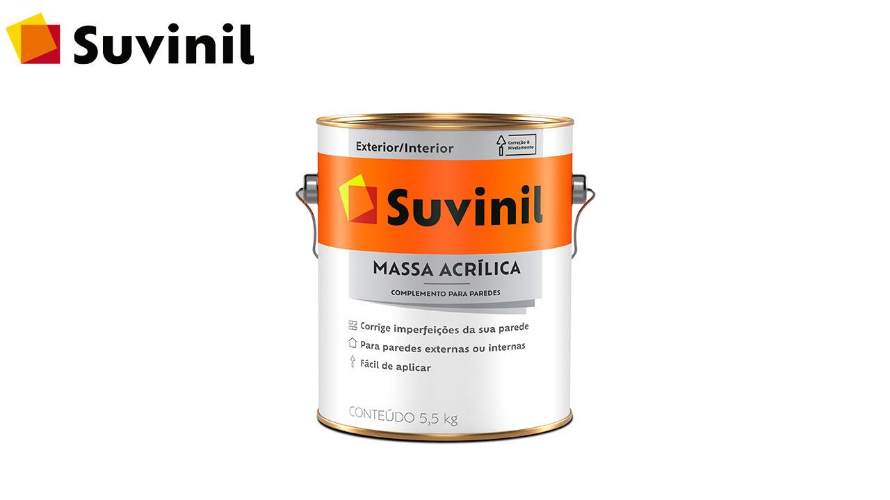 MASSA ACRÍLICA SUVINIL GL C/5,5KG