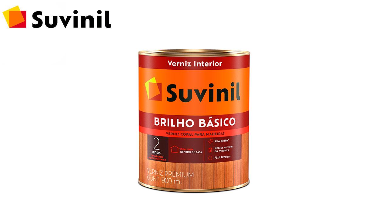 VERNIZ SUVINIL BRILHO BÁSICO BRILHANTE NATURAL LT900LM  NATURAL
