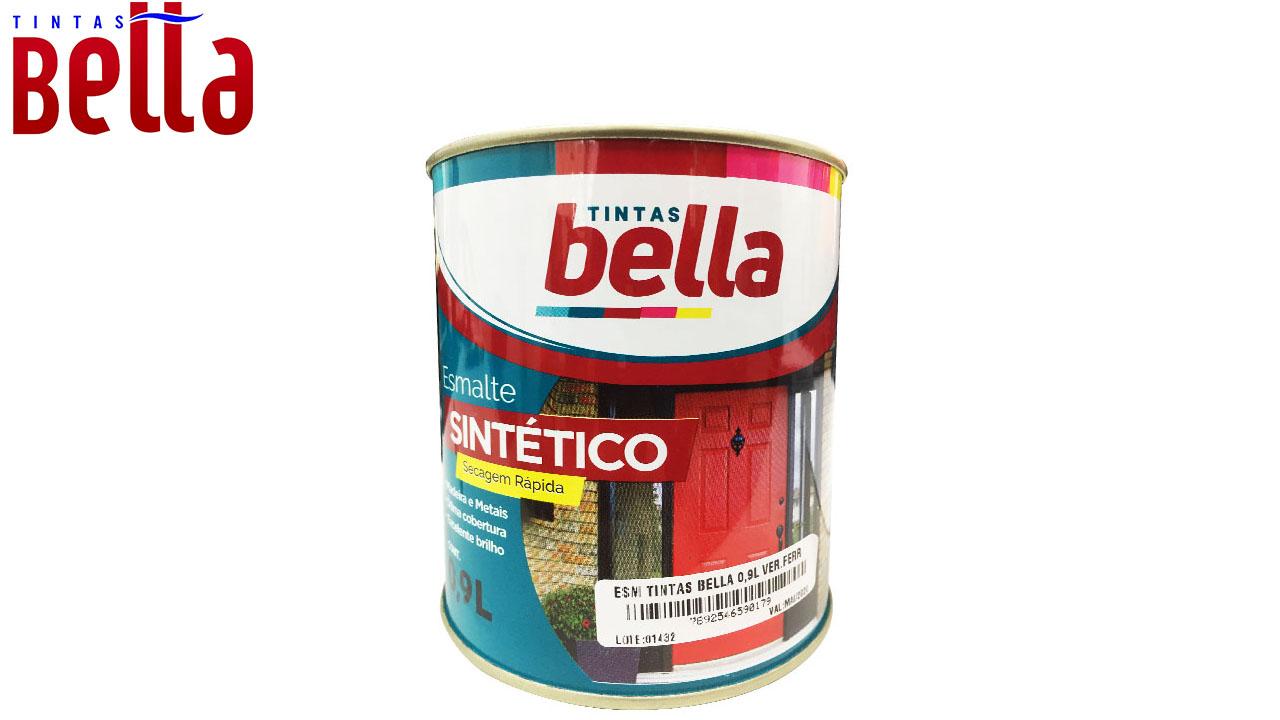 ESMALTE SINTÉTICO TINTAS BELLA LT900ML TABACO