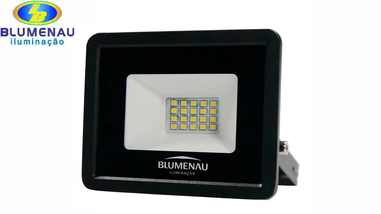 REFLETOR BLUMENAU LED TECH 20W 65000K BI