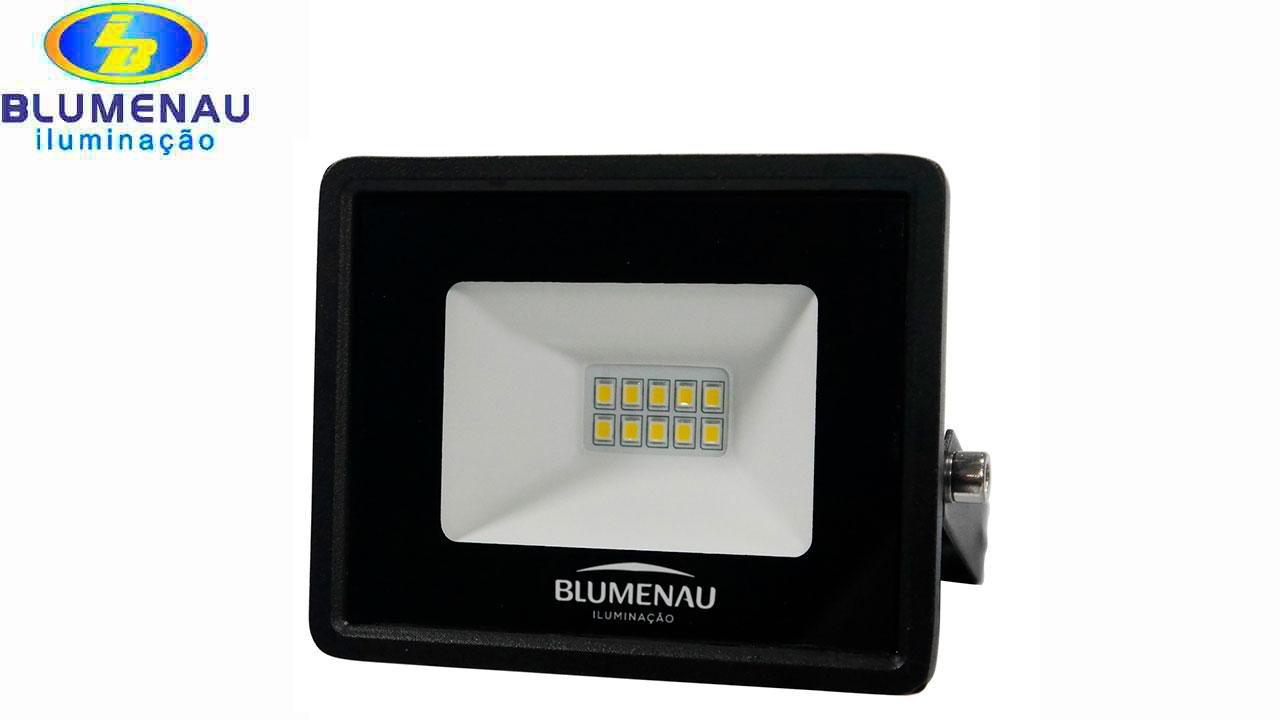 REFLETOR BLUMENAU LED TECH 10W 65000K BI