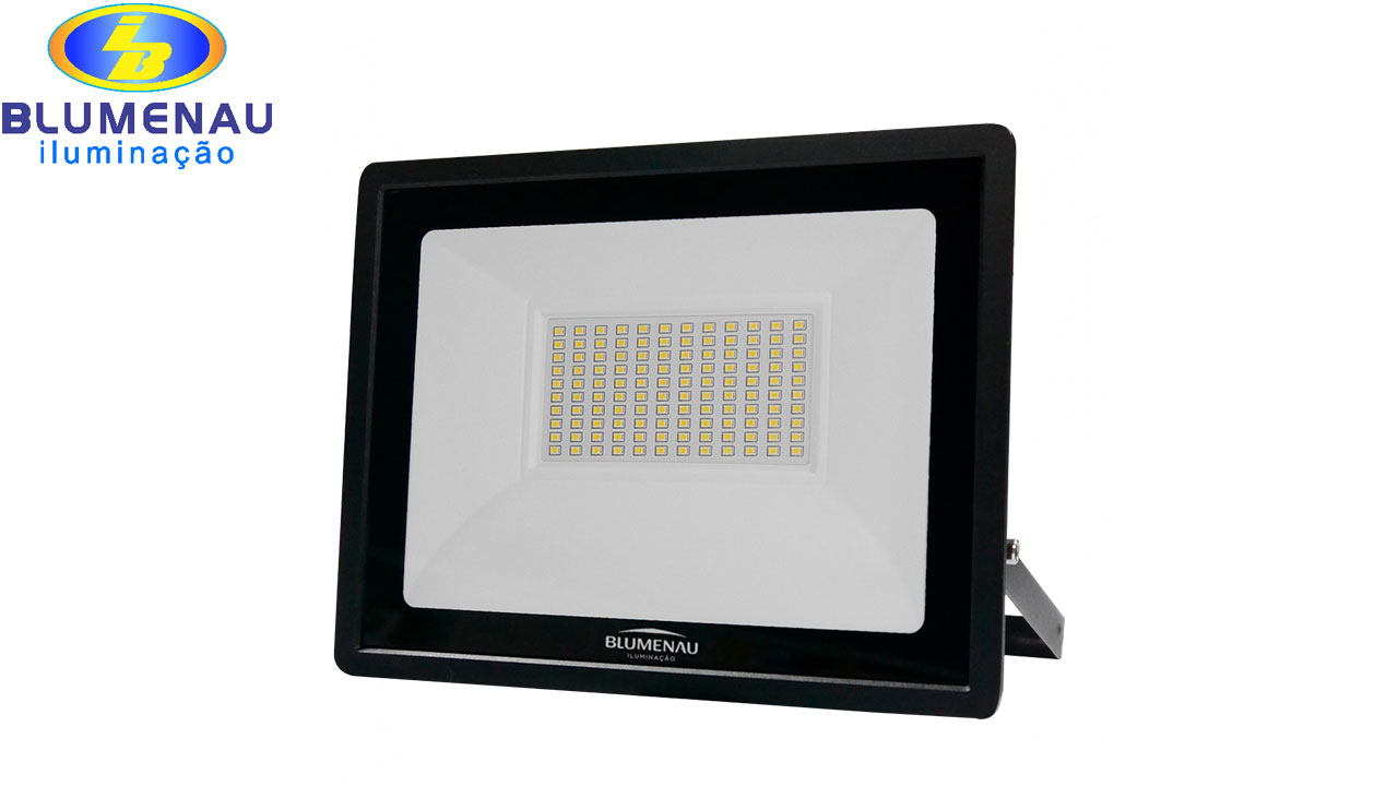 REFLETOR BLUMENAU LED TECH 100W 6500K BI