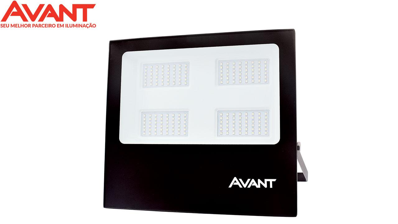 REFLETOR LED SLIM AVANT 200W BIV.BR 6500K