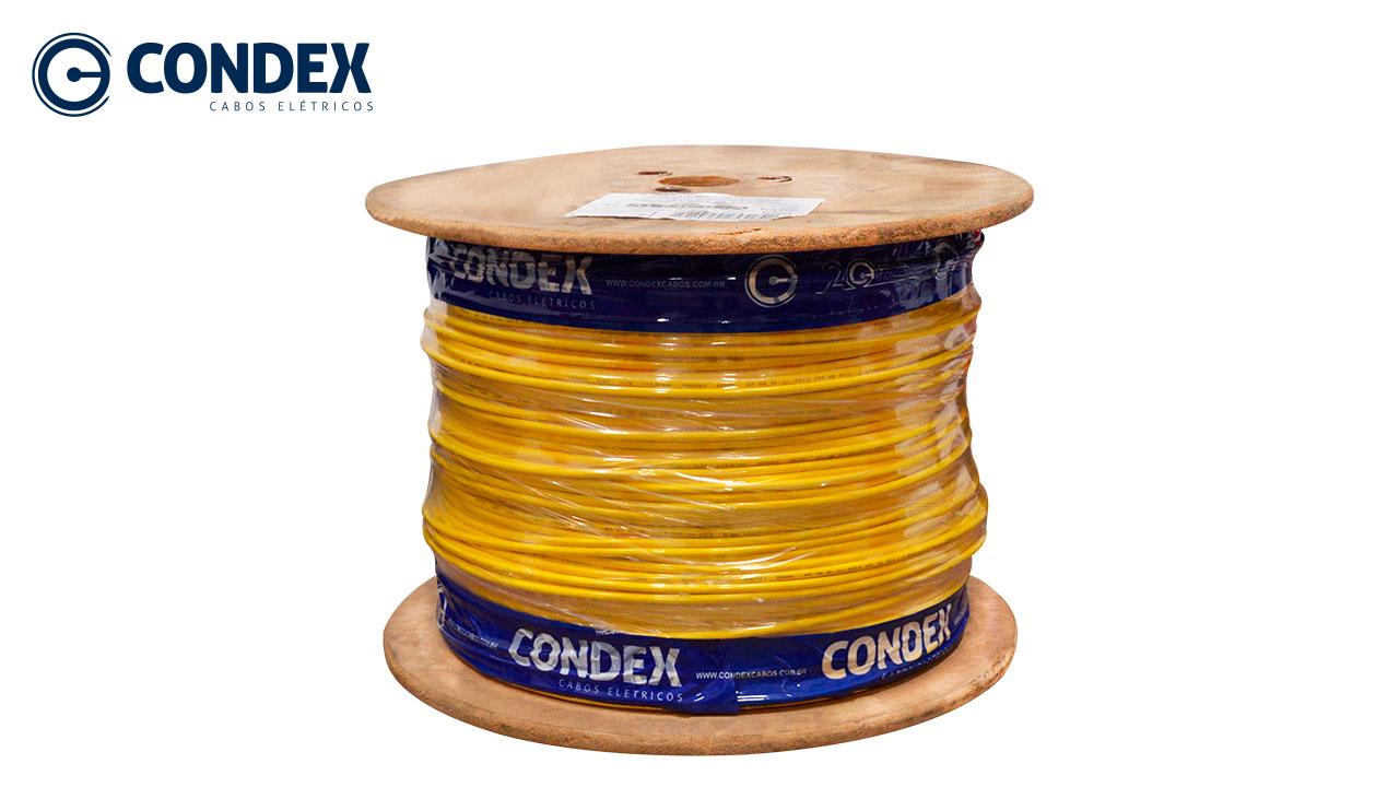 CABO FLEXÍVEL CONDEX 1.5MM VERMELHO 450/750V BOBINA C/1200M