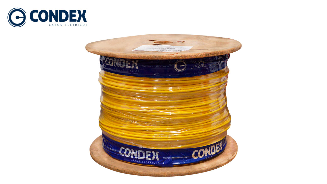 CABO FLEXÍVEL CONDEX 2.5MM VERDE 450/750V BOBINA C/1000M