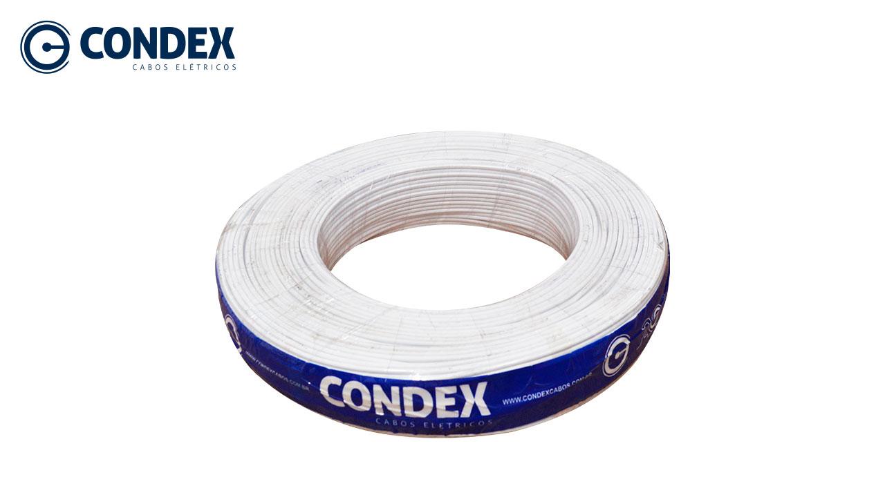 CORDÃO CONDEX PARALELO 2X1.50M² BRANCO 300V
