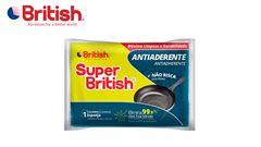 ESPONJA SUPER BRITISH ANTIADERENTE PACOTE COM 03 UNIDADE