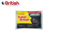 ESPONJA SUPER BRITISH LIMPA GRILL