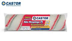 ROLO PARA PINTURA CASTOR NÃO RESPINGA ECONÔMICO 23CM SEM CABO