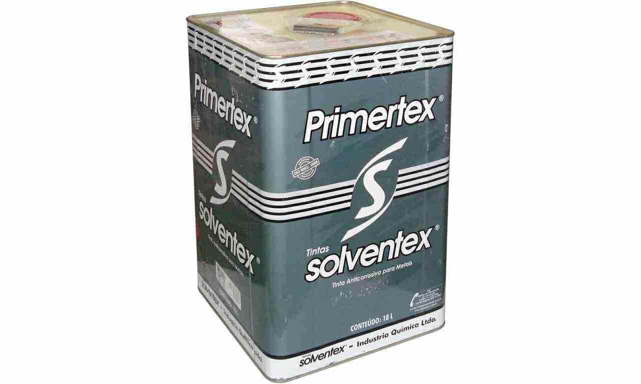 PRIMETEX CINZA SOLVENTEX(ZARCÃO)LATA 18L