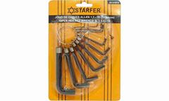 JOGO CHAVE ALLEN STARFER 1.5-10 10P