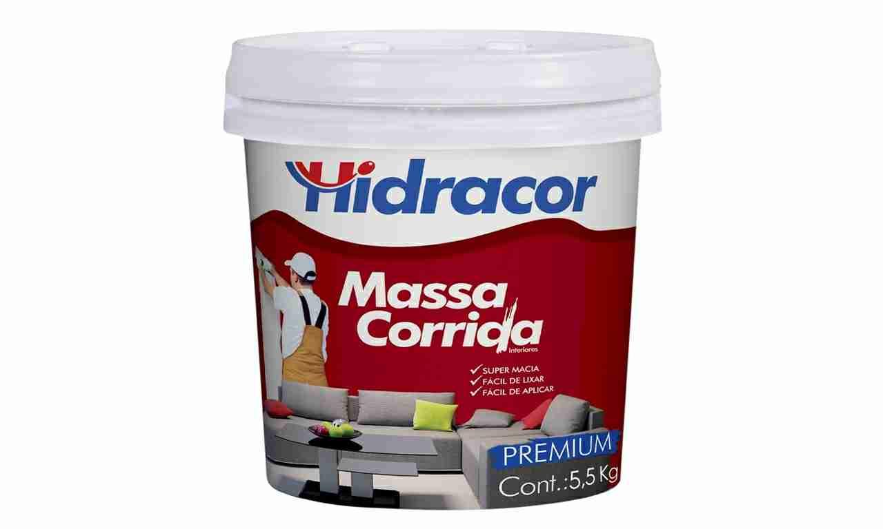 MASSA CORRIDA HIDRACOR GL5,5KG