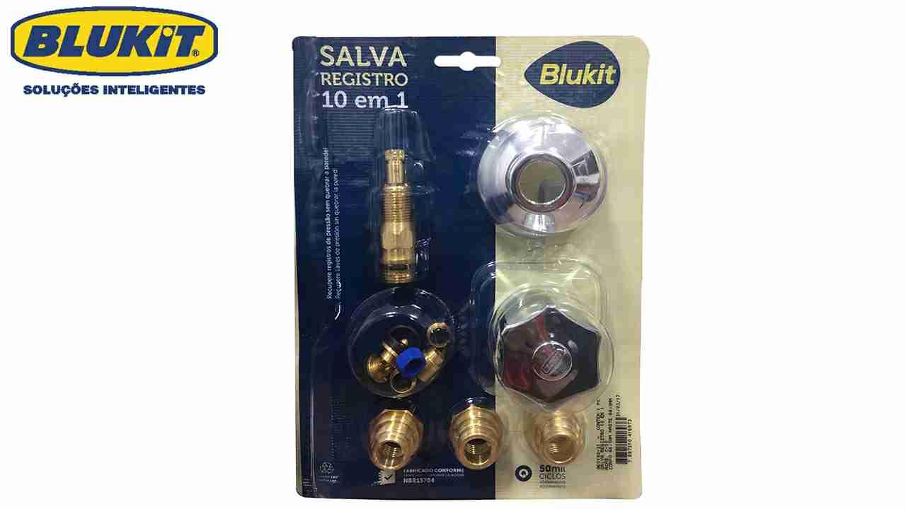 SALVA REGISTRO BLUKIT KIT 10 EM 1 COM ACABAMENTO C50