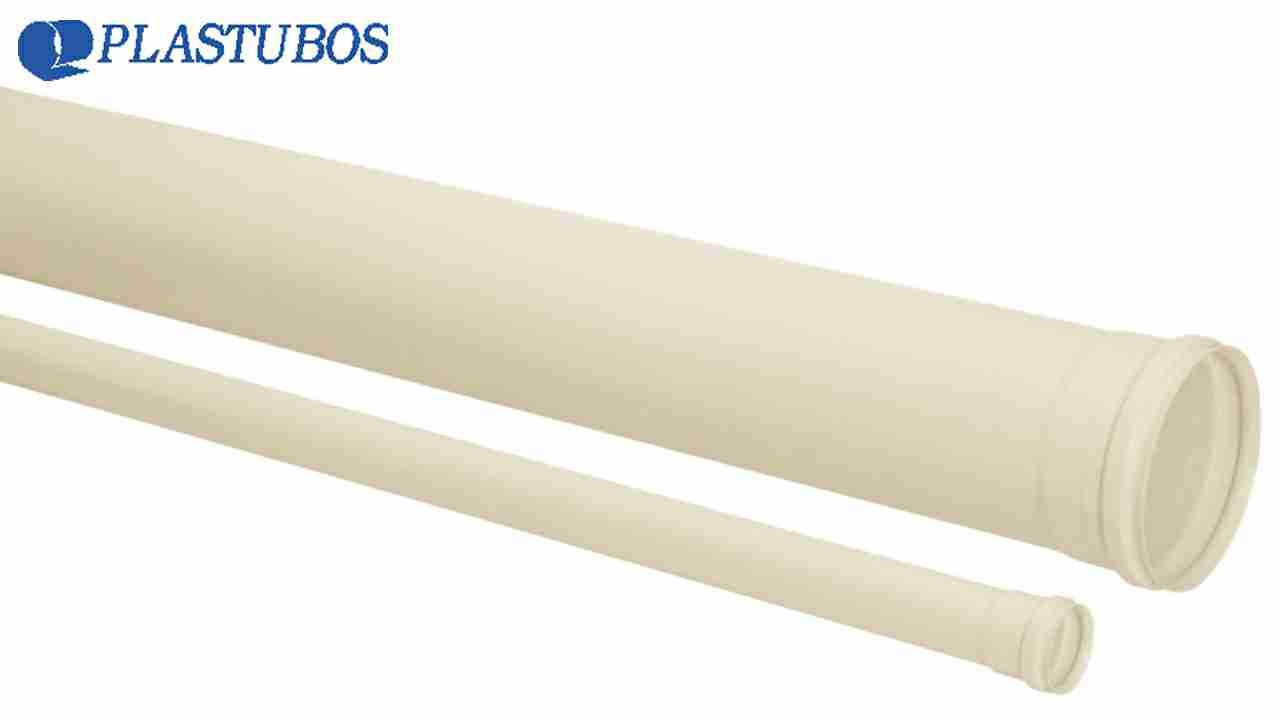 TUBO ESGOTO PVC PLASTUBOS DN100 6M
