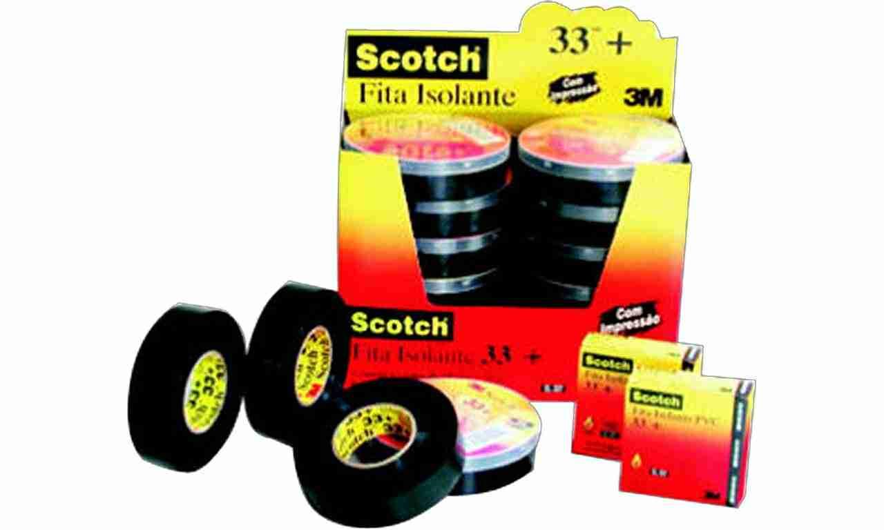 FITA ISOLANTE 3M SCOTCH 19MMX05M