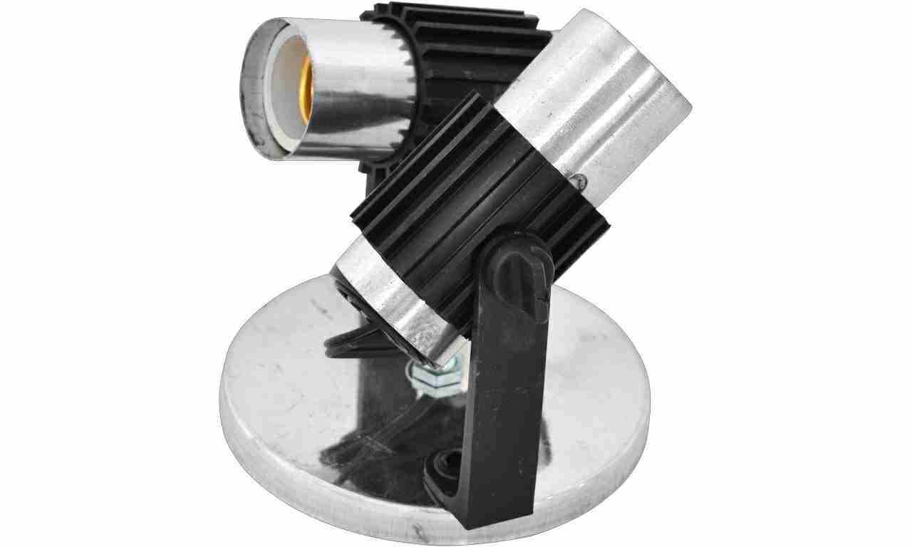 SPOT ALUM ENERLUX TUB DUPLO SOQ/PLAS. CR